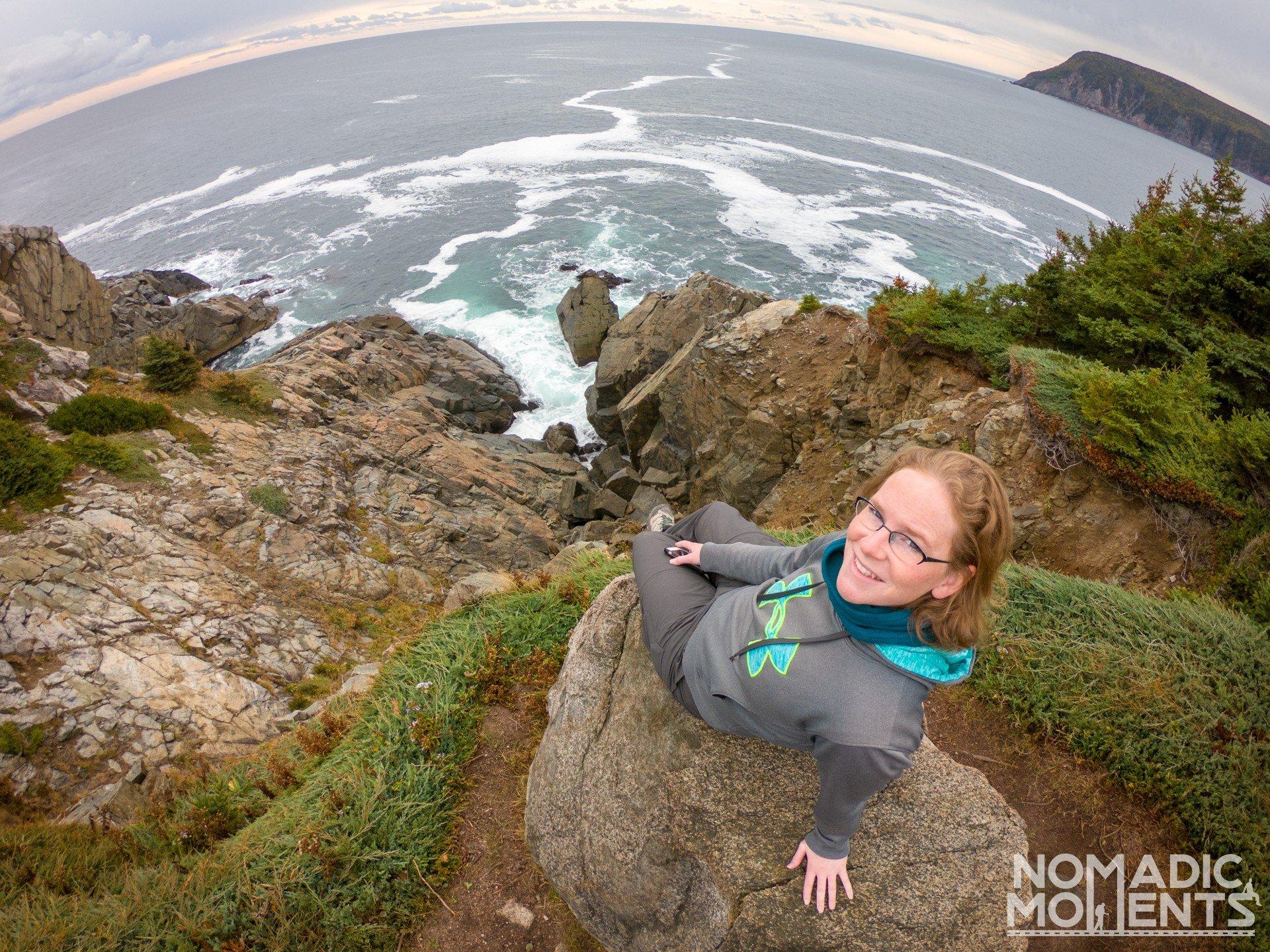 Hiking Cape Breton Island's Middle Head Trail