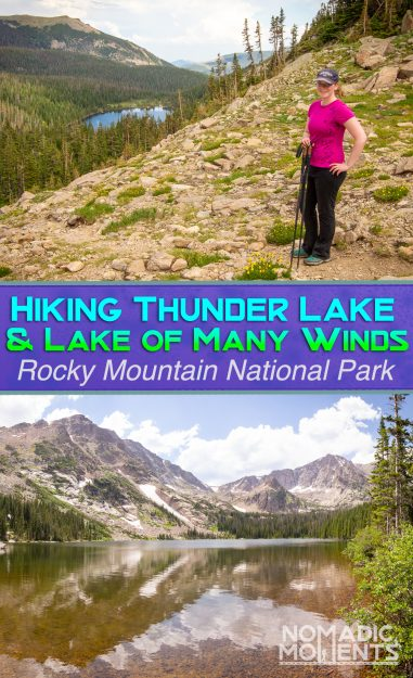 Hiking Thunder Lake & Lake of Many Winds