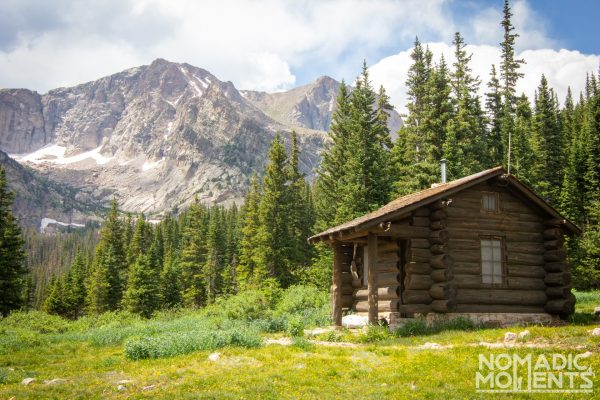 Hiking Thunder Lake Ranger Patrol Cabin