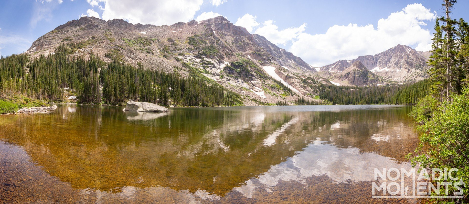 Rocky Mountain National Park's Thunder Lake