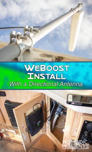 WeBoost Drive 4G-X Install