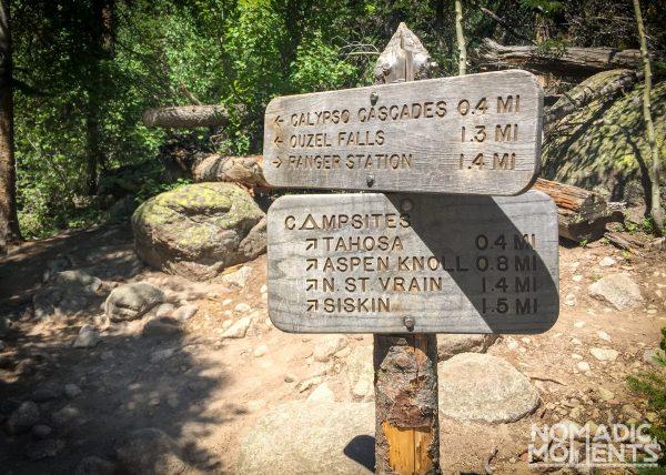 Wild Basin Campsites