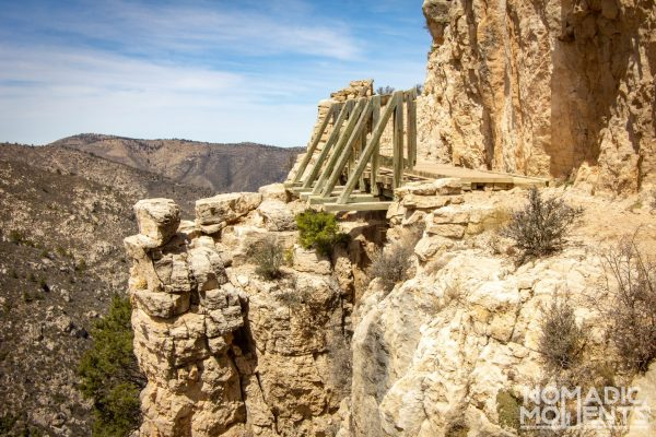 Guadalupe Peak Trail Bridge