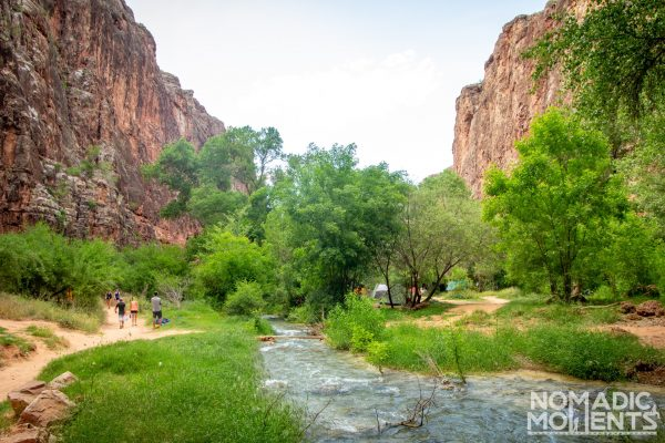 The Havasupai Canyon
