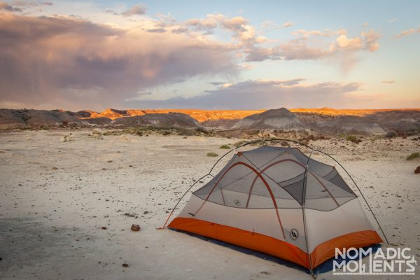 The best backpacking tent in the Petrified Forest
