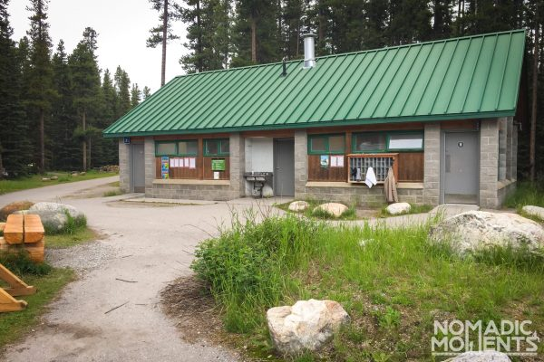 Lake Louise Shower House - Canadian Rockies Campgrounds