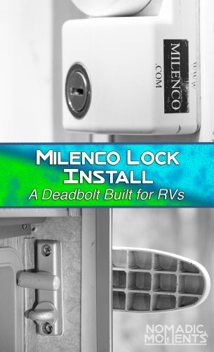 Milenco RV Deadbolt Security Lock