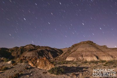 Backpacking the Petrified Forest Wilderness