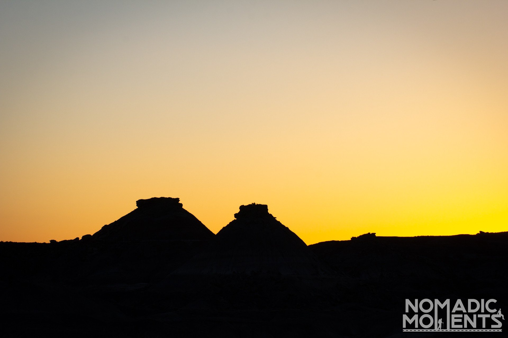Sunrise in the Petrified Forest