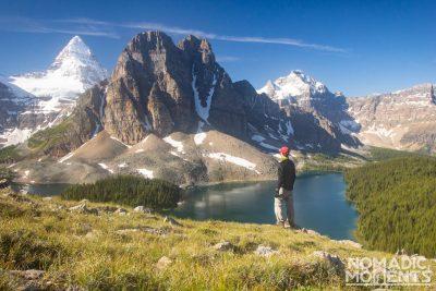 Assiniboine Overlook - Canadian Rockies backcountry