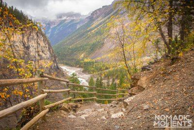 Berg Lake Trail Climb