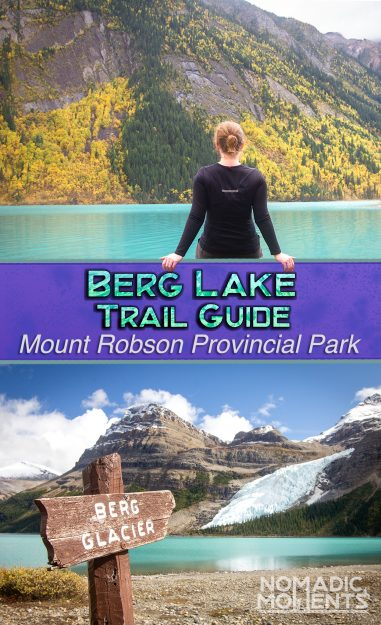 Berg Lake Trail Guide