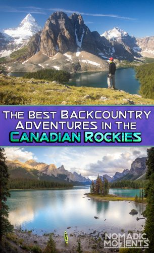 Canadian Rockies Backcountry - Pin