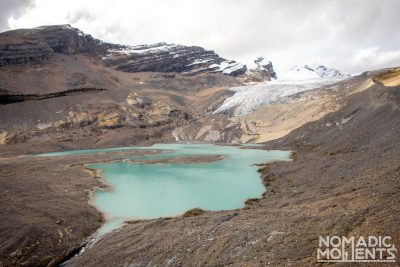 Hargreaves Lake & Glacier