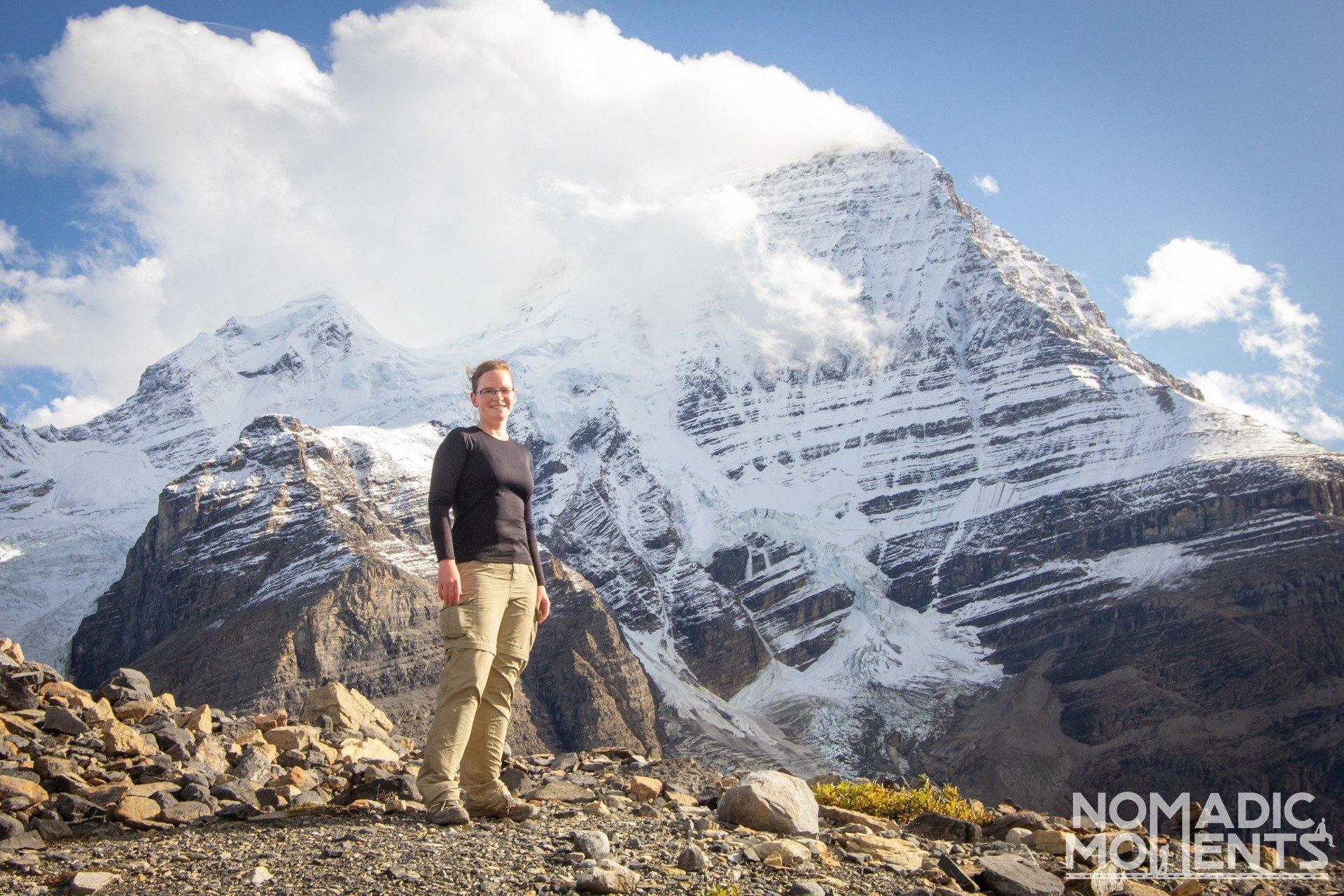 Mount Robson Hiker
