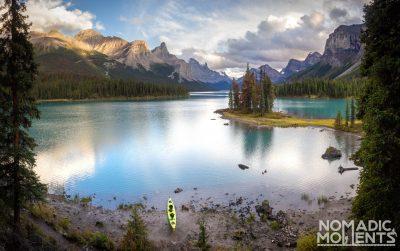 Maligne Lake Kayaking