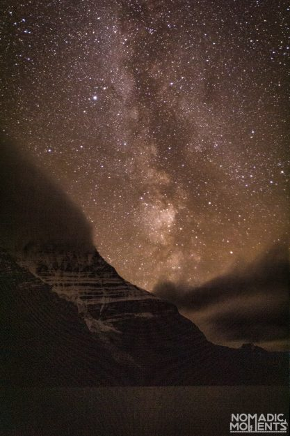 Milky Way over Mount Robson