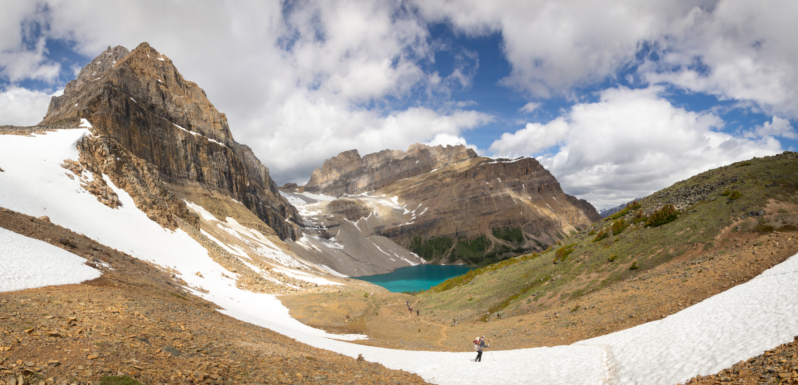 Packer Pass Canadian Rockies backcountry