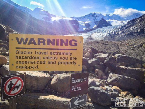 Robson Glacier Overlook