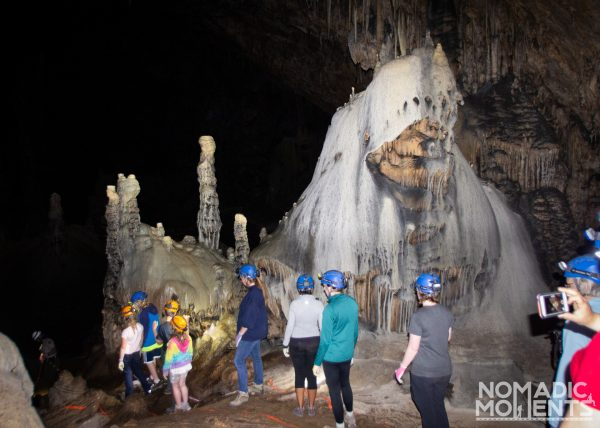 Slaughter Canyon Cave Tour Group