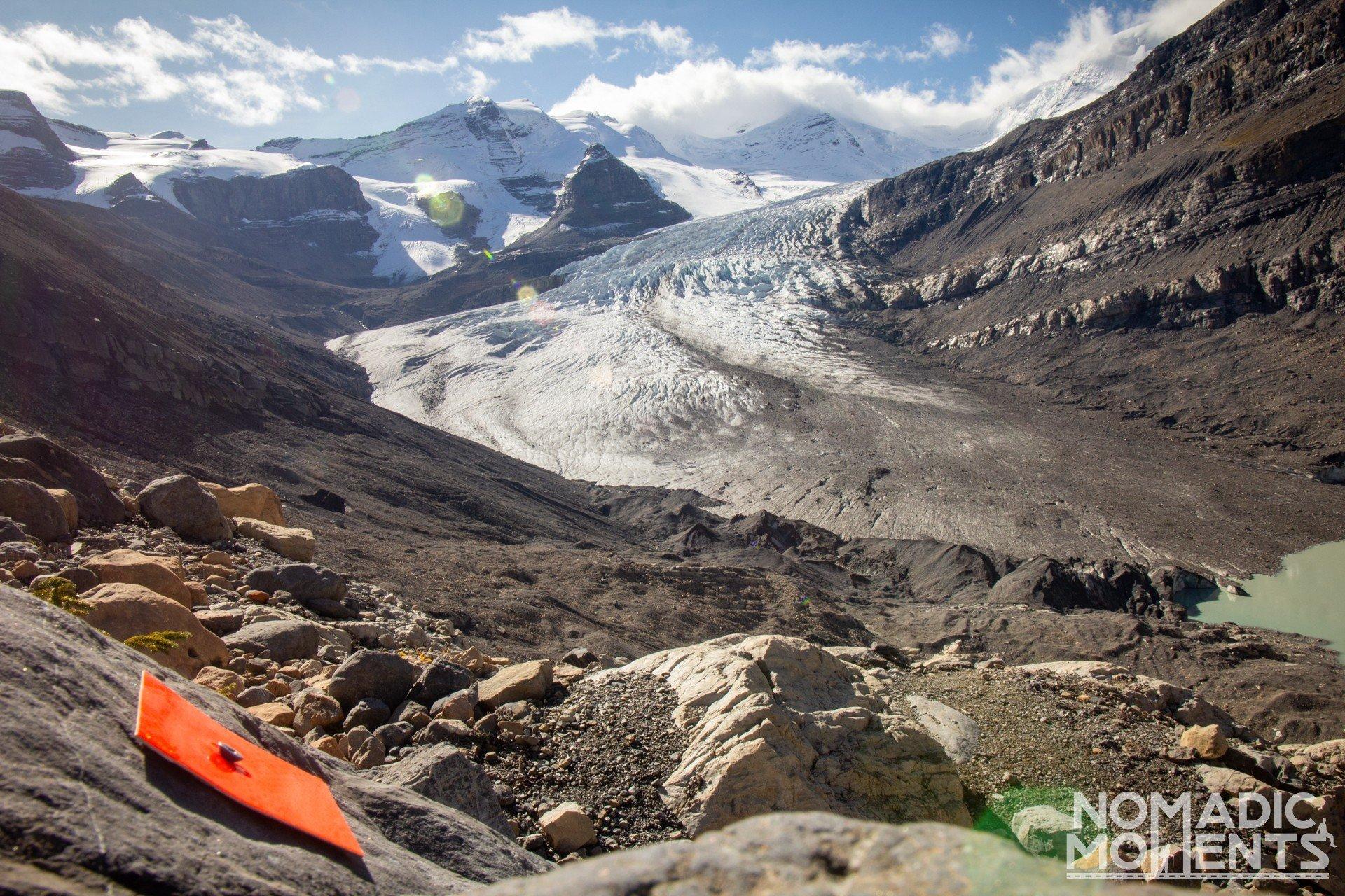 Snowbird Pass Trail Marker