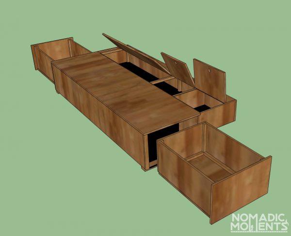 SuperCab Renovation Bike Box Design