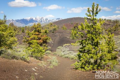 Craters of the Moon Trails