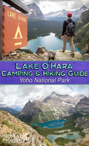 Lake O'Hara Camping & Hiking Guide