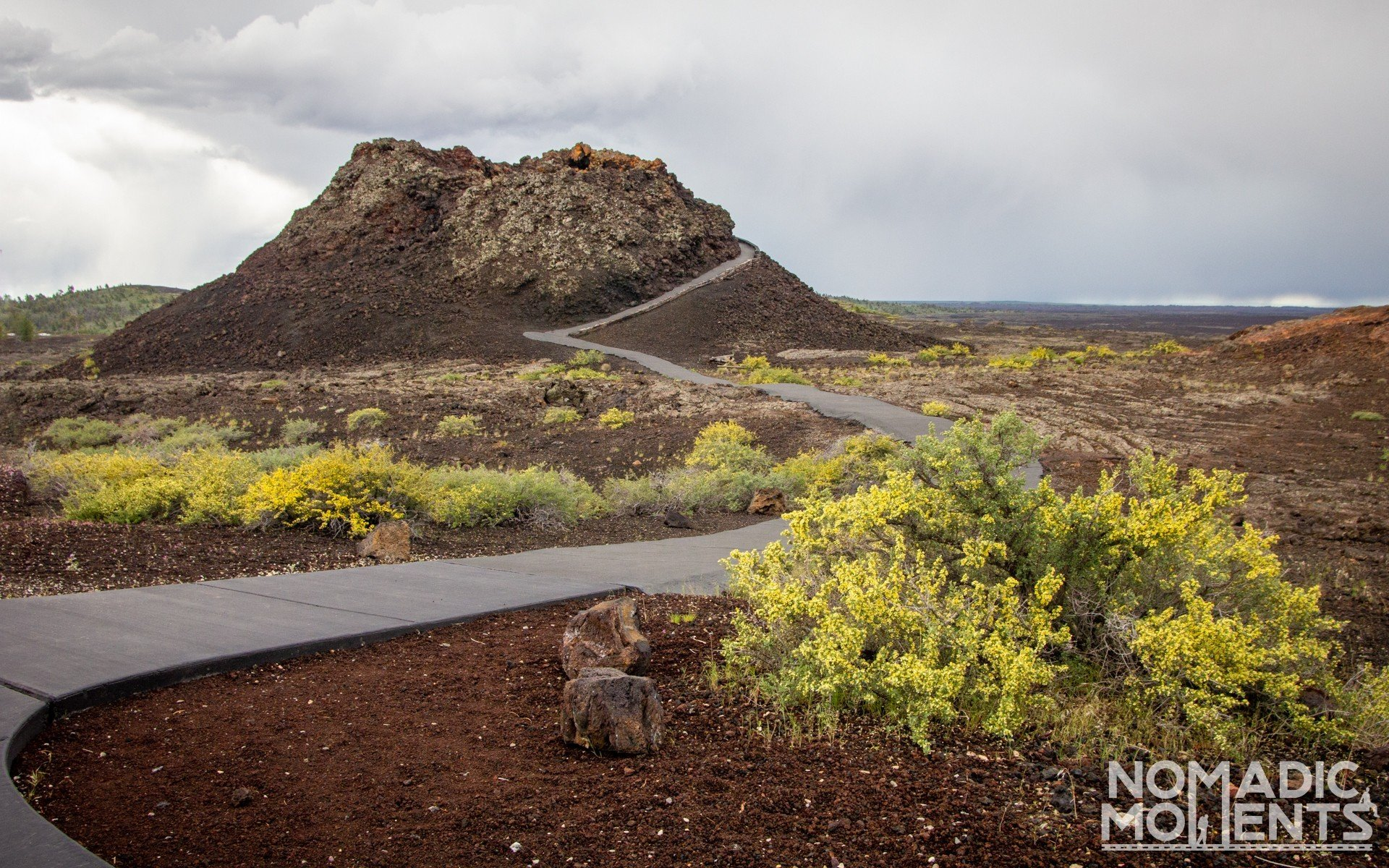 Spatter Cone Trail - Craters of the Moon Trails