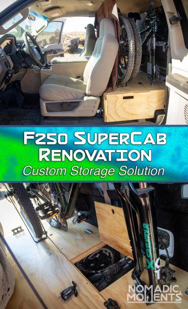 F250 SuperCab Renovation