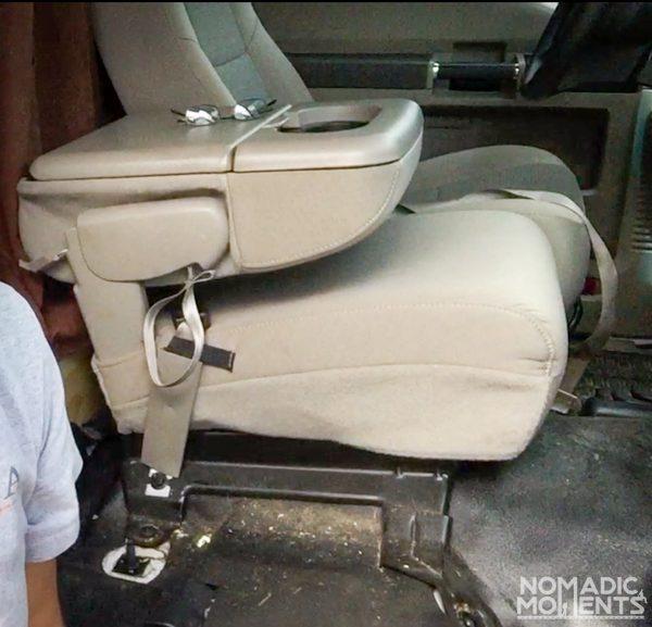 F250 Jumpseat