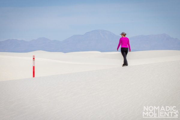 Hiking the Alkali Flat Trail