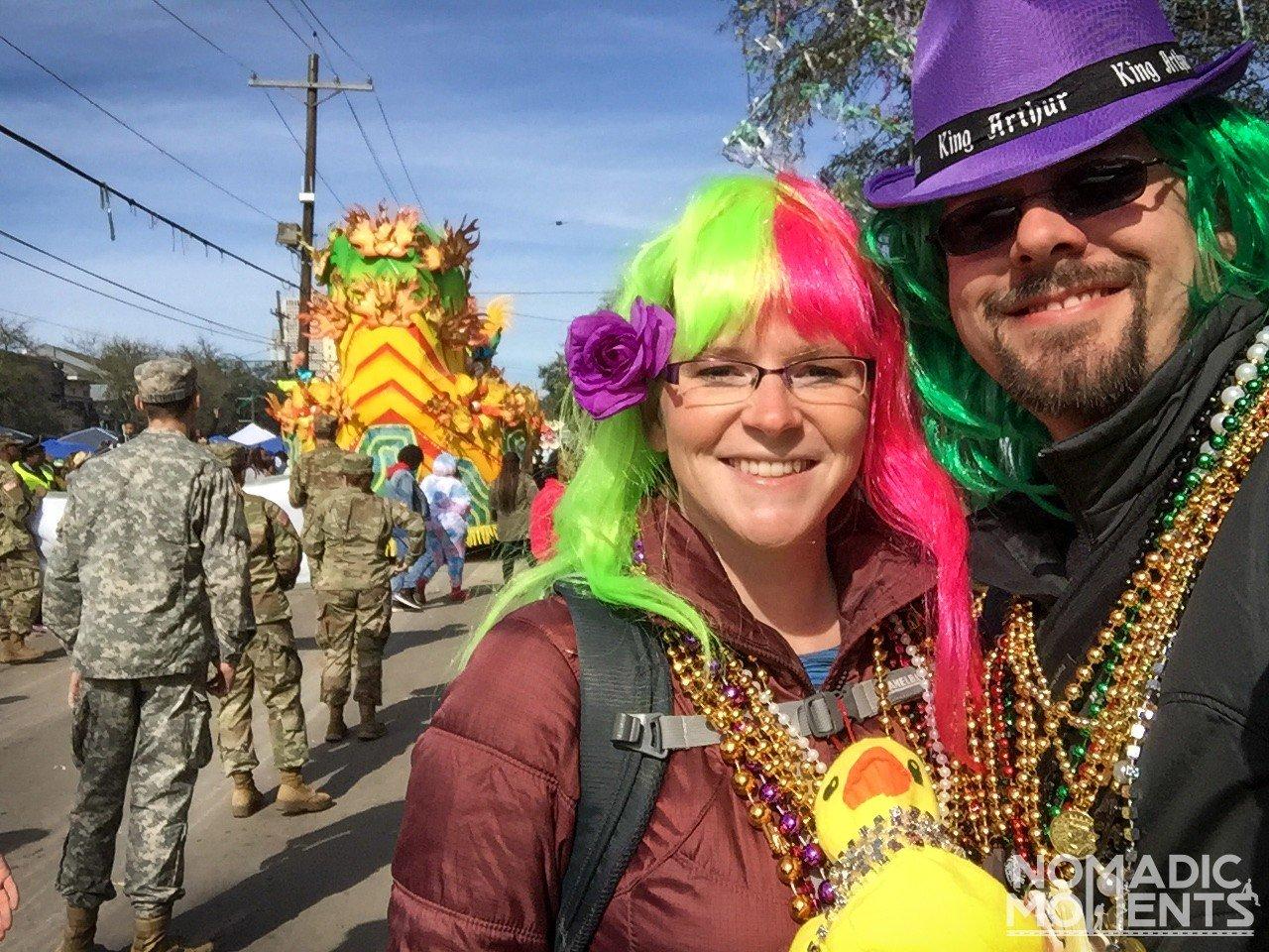 Mardi Gras NomadicMoments