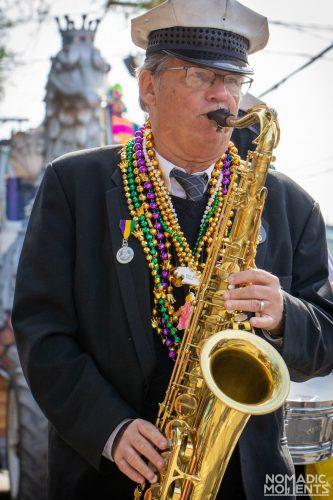 Mardi Gras Sax