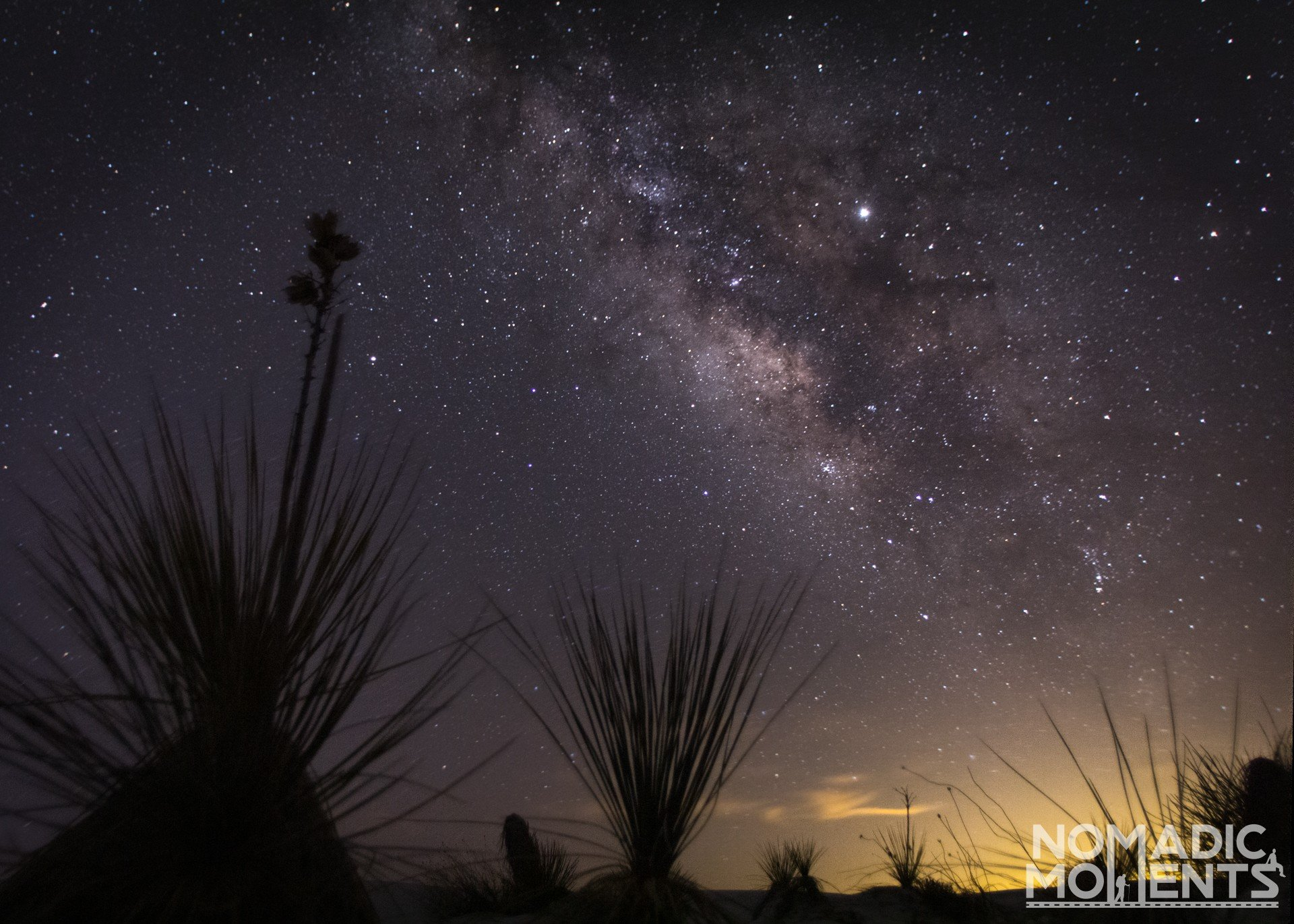 Milky Way over White Sands National Park