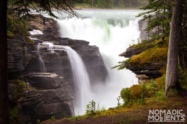 Athabasca Waterfall