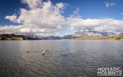 Clouds over Jasper Lake