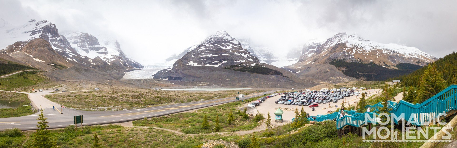 Columbia Icefield Discovery Center View