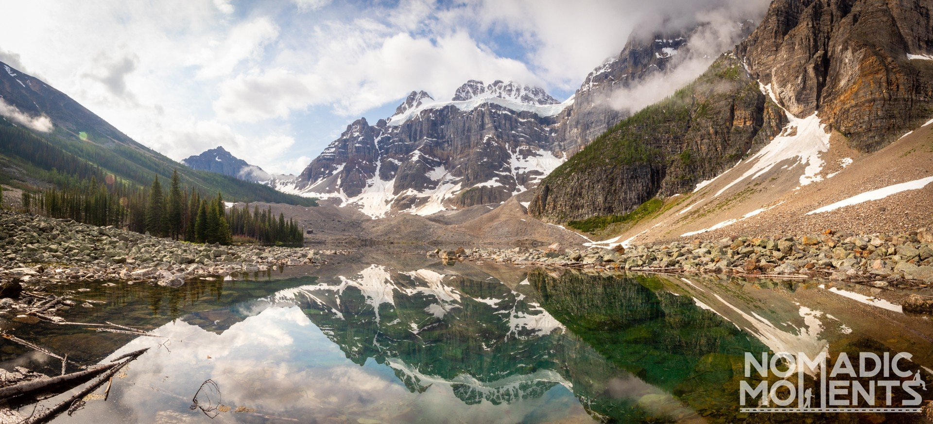 Consolation Lakes Panorama