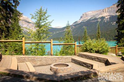 Emerald Lodge Fire Pit