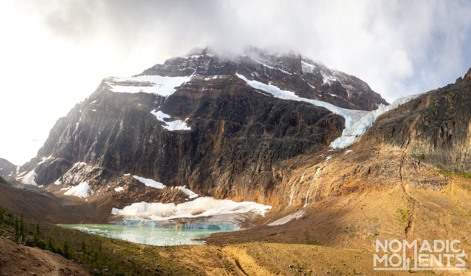 Glaciers of Edith Cavell