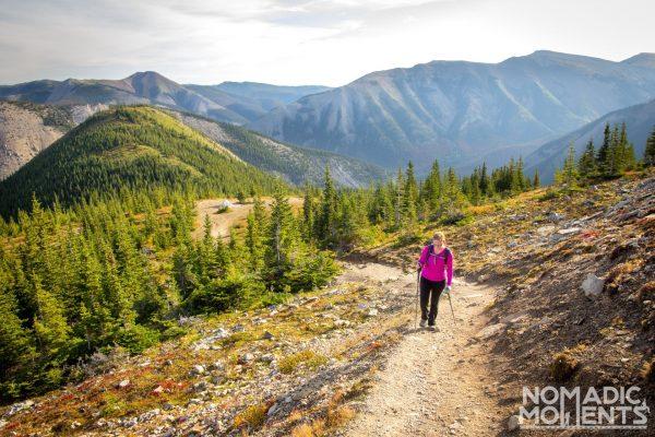 Hiking the Sulphur Skyline Trail