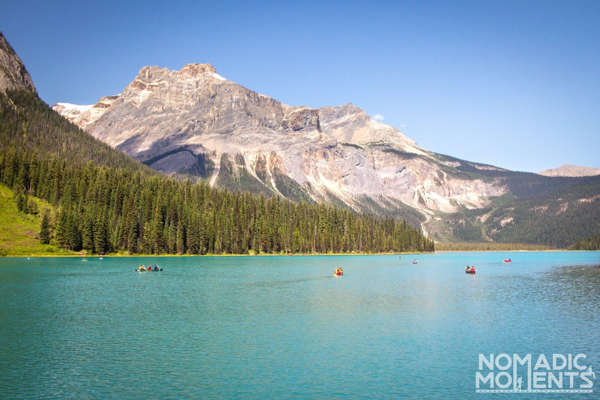 Kayaking Emerald Lake
