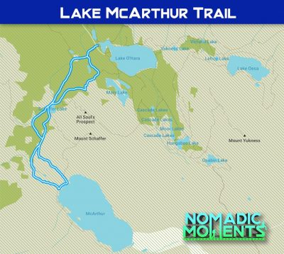Lake McArthur Trail Map