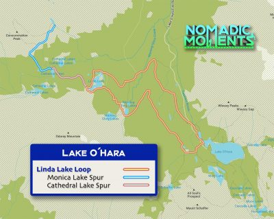 Linda Lake Loop Trail Map