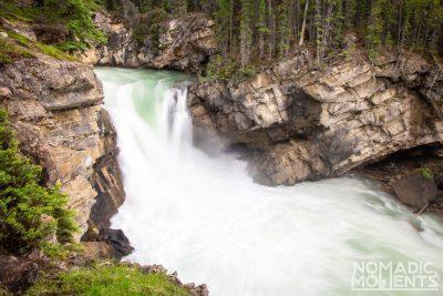 Lower Sunwapta Falls