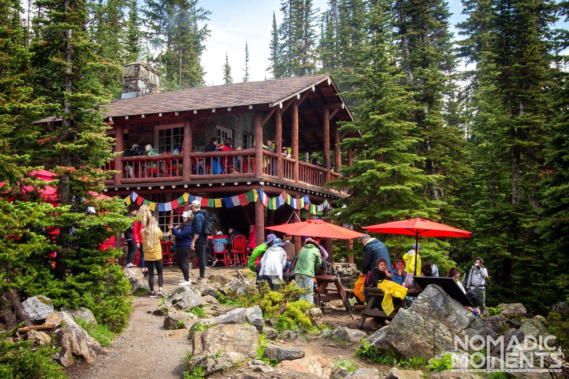 Six Glacier Tea House