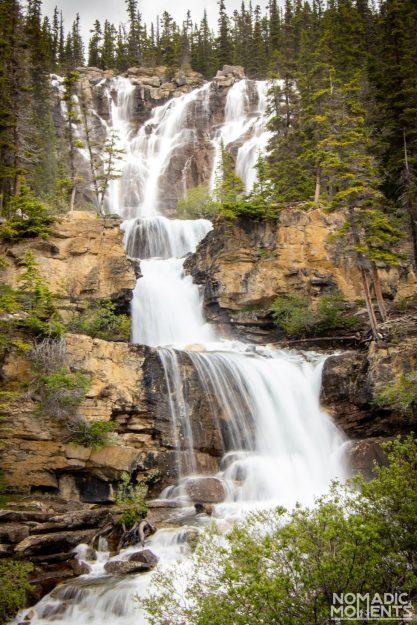 Tangle Creek Falls Cascade