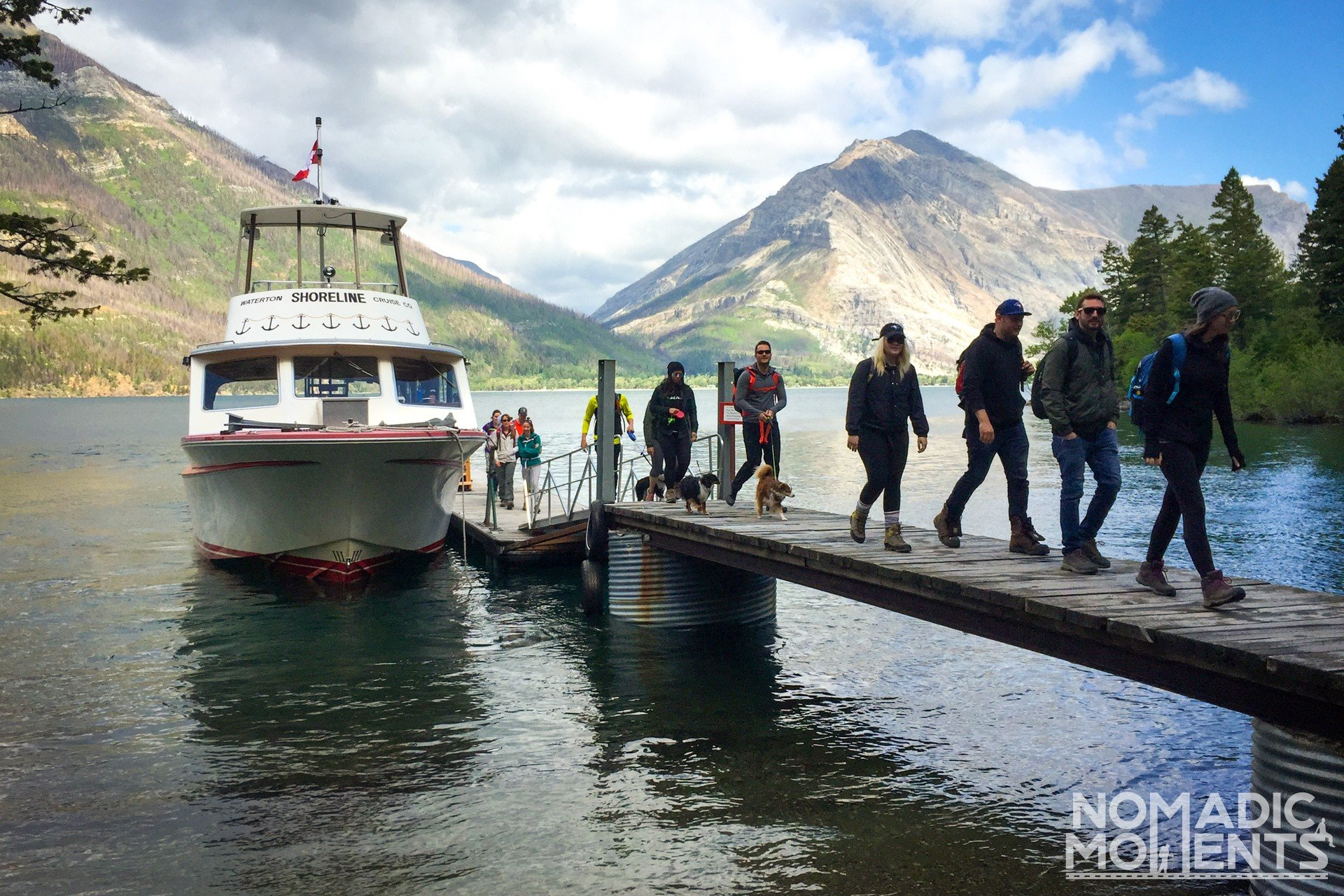 Crypt Lake Ferry Boat Dock