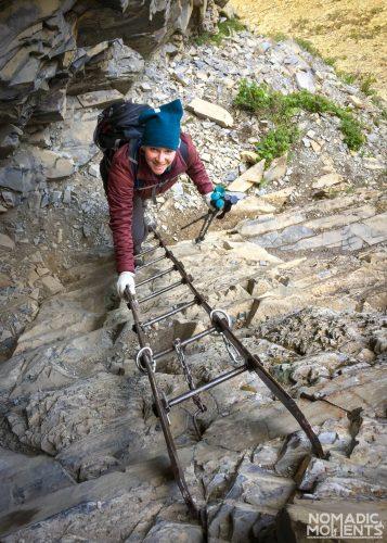 Crypt Lake Ladder